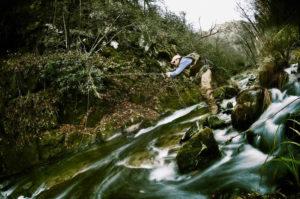 fly fishing creek