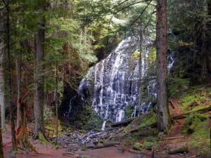 cohutta mountain waterfall