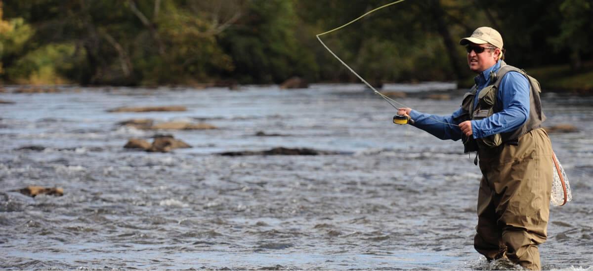 fly fishing nantahala river
